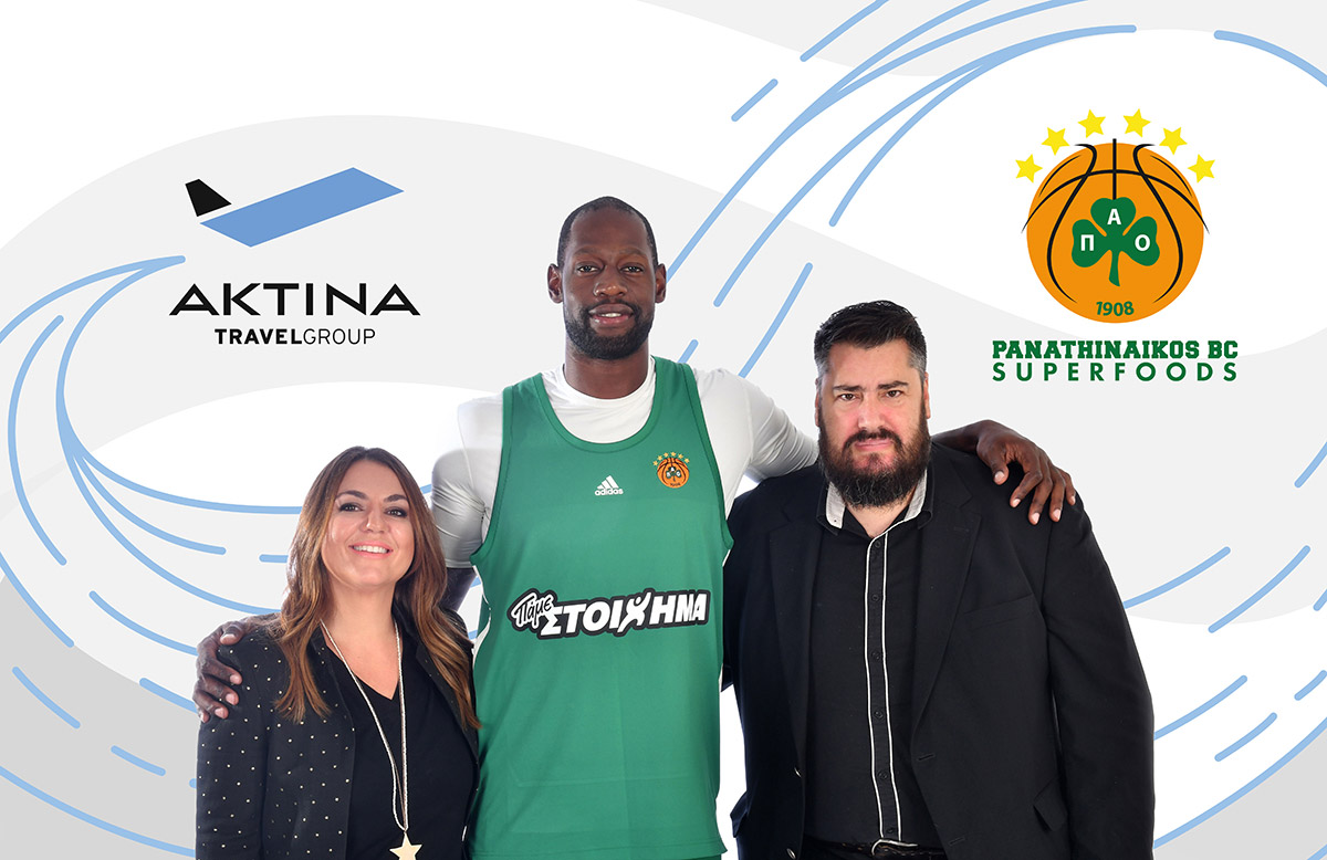 Aktina Travel Group sponsors Panathinaikos BC Superfoods