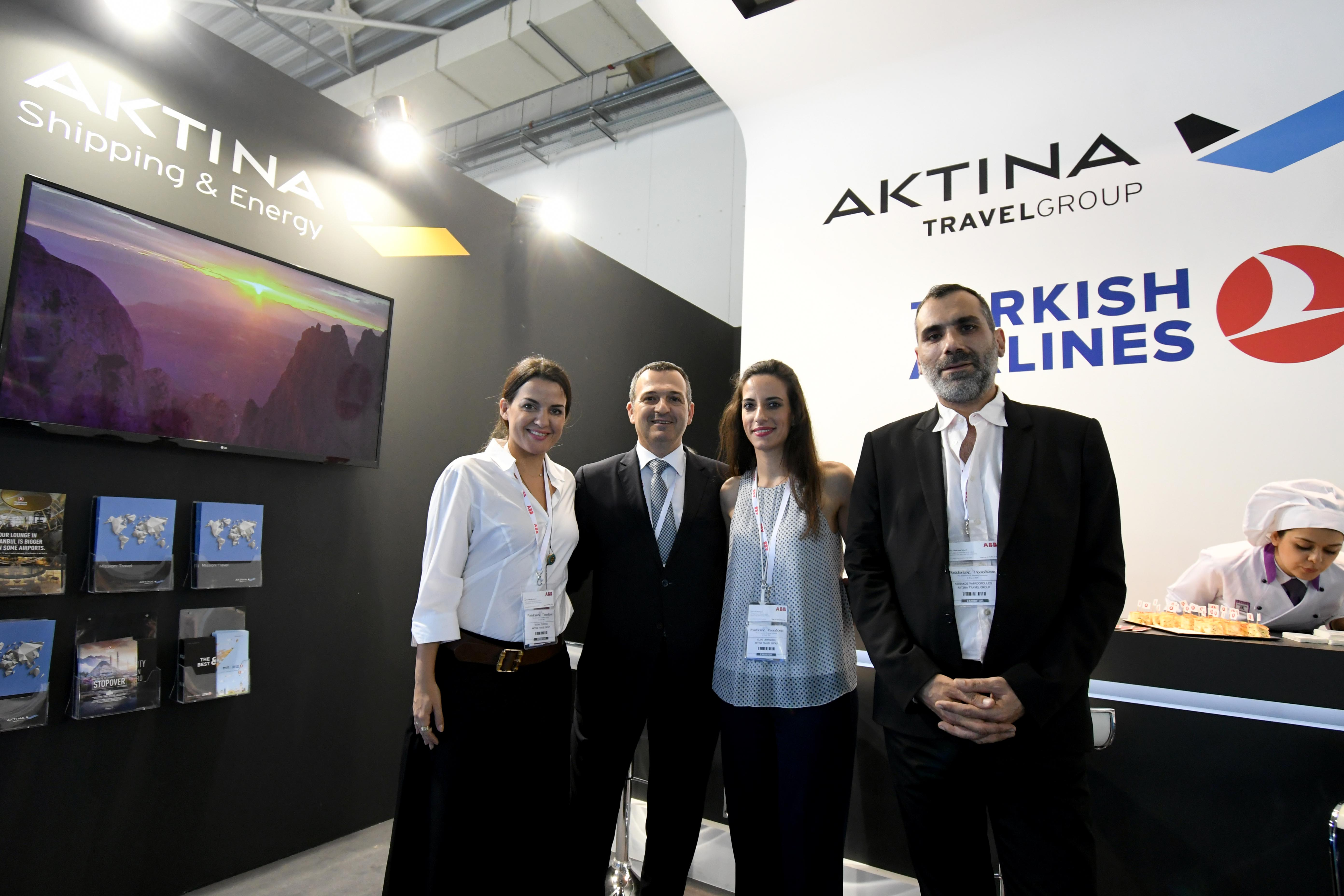Aktina Travel Group at Posidonia 2018